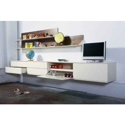 18 best Meuble tele images on Pinterest Media consoles, Furniture - meuble tv avec rangements