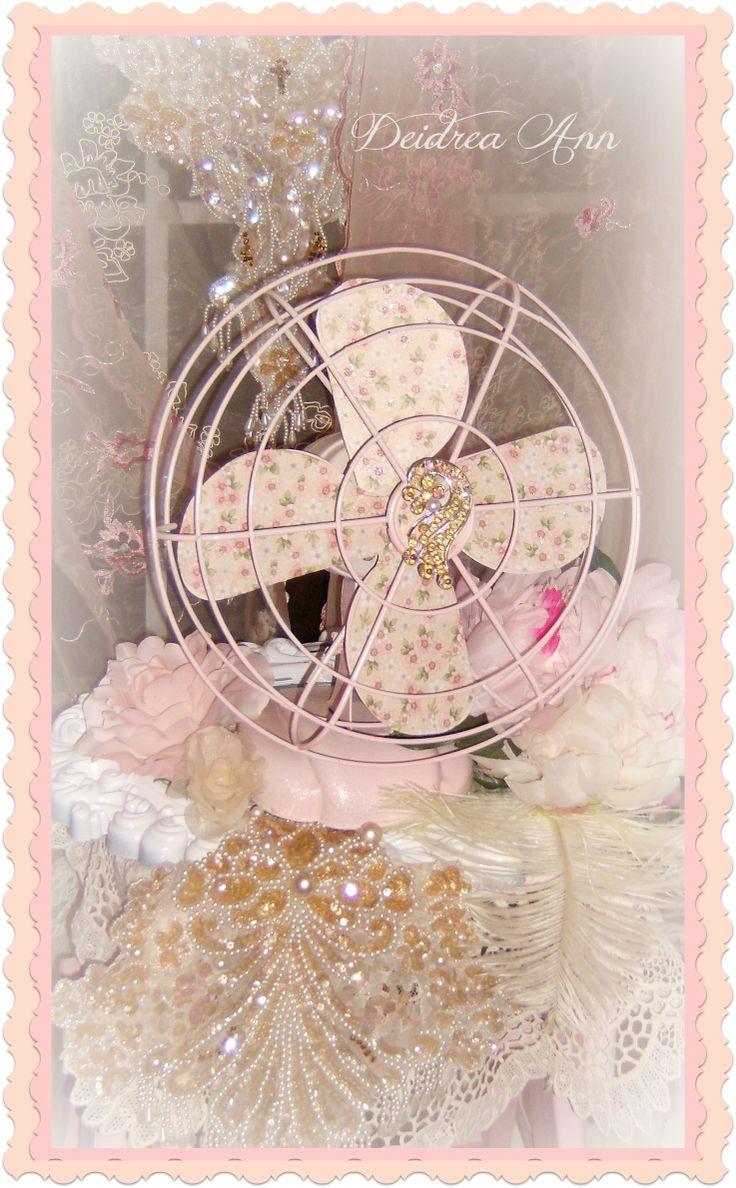 Creative Hoarder Shabby Chic Vintage Zero Fan Romantic