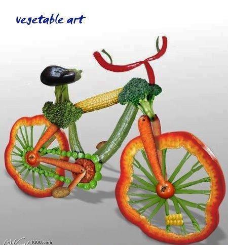 Food Art so cute