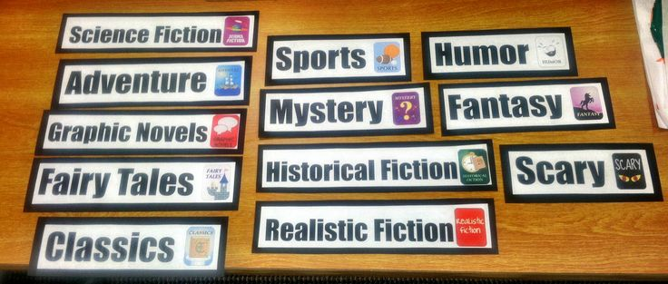 It's Time! We Are Moving Our Fiction Into The Genre Neighborhoods! | Van Meter Library Voice