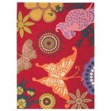Brink and Campman, Xian butterfly rug, 170cm x 240cm, $615.  Love this rug for a girl's room! So pretty and modern.