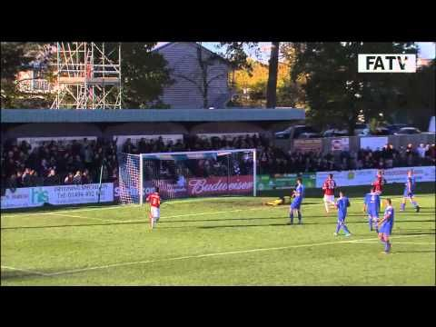 FOOTBALL -  Bishop's Stortford vs Northampton Town 1-2, FA Cup First Round Proper 2013-14 highlights - http://lefootball.fr/bishops-stortford-vs-northampton-town-1-2-fa-cup-first-round-proper-2013-14-highlights/