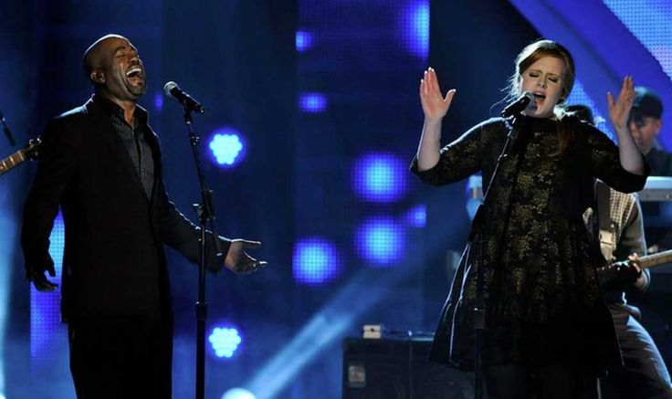"""The Time Adele and Darius Rucker Covered Lady Antebellum's """"Need You Now"""""""