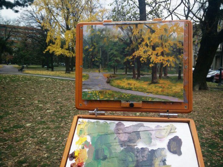 Recent plein air #pleinair #painting