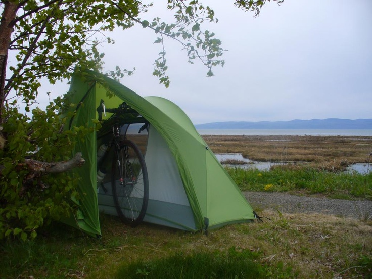 Mountain Hardwear Ghisallo 1 Person Tent - yep thatu0027s a place to keep your bike : cycling tents - memphite.com
