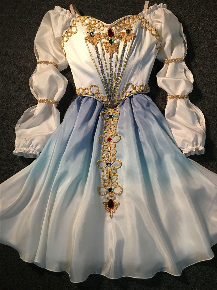 """Pas de Trois"" Dress for ""Swan Lake"" - by Heather Lerma"