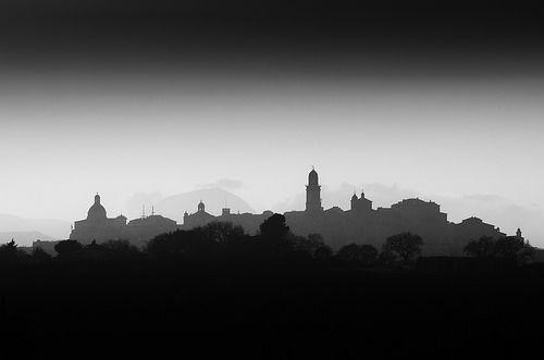 Silhouette of Macerata