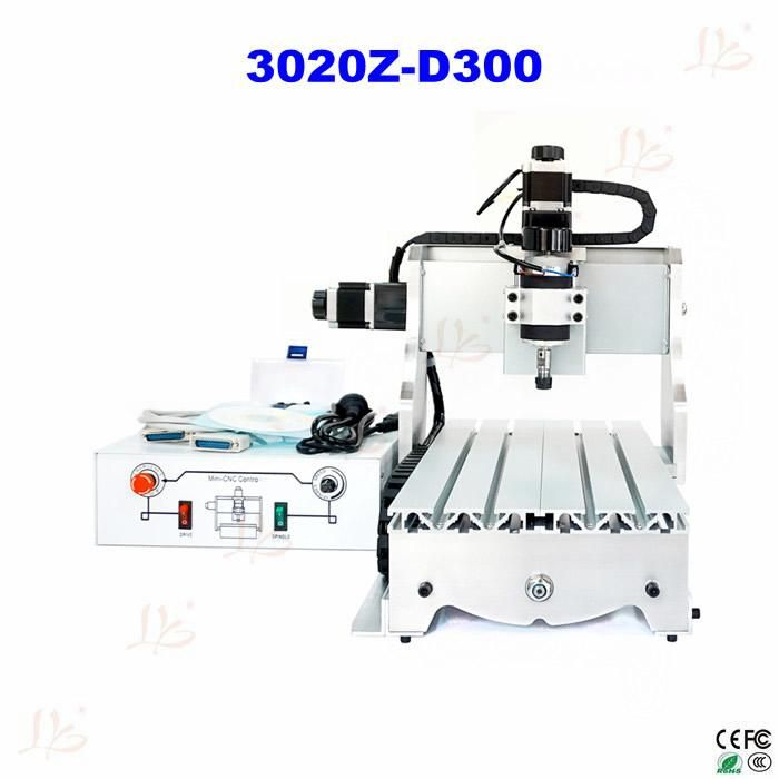 CNC wood carver 3020 Z-D300 3axis CNC Router Machine for PCB wood milling