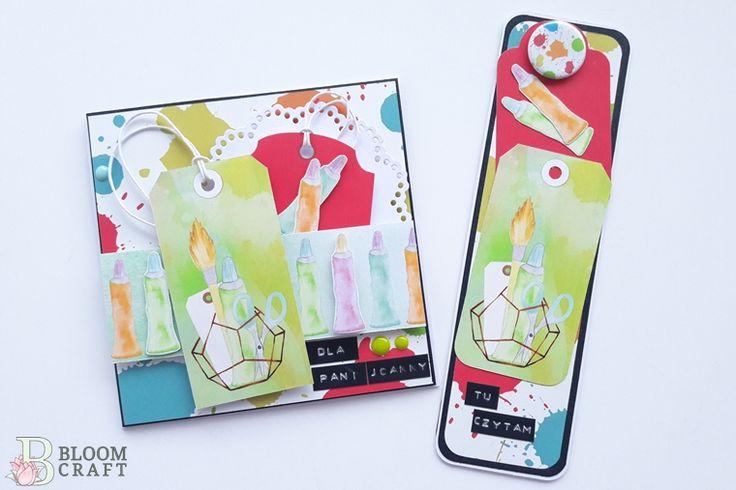 kartka dla nauczyciela; gift; for teacher; card, bookmark, handmade; rękodzięło