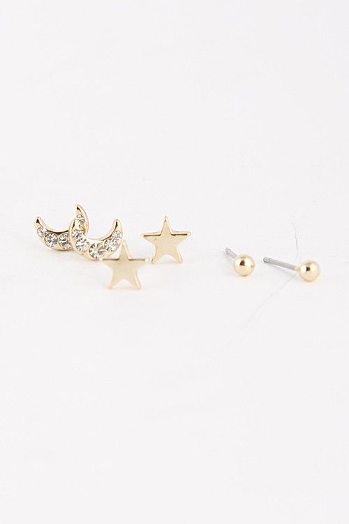 Three Way Street Earring - 0.2 to 0.25 approx. - Lead and Nickel Compliant
