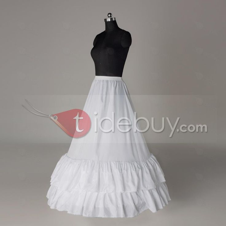 US$21.99 Flounced A-line Two Layers Two Steel Rings Wedding Petticoat. #Wedding #Flounced #Steel #A-line