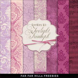 New Freebies Kit of Paper - Twilight Triumph