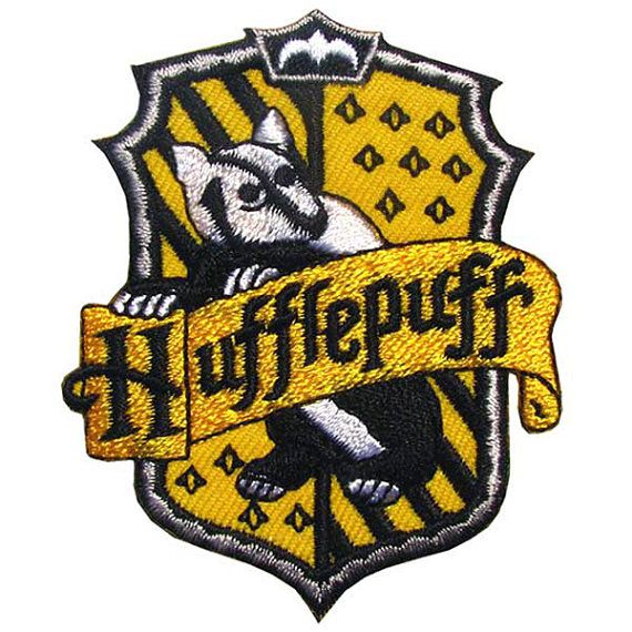 Which Hogwarts How Do You Belong To: Harry Potter Iron On Patch / Embroidered Hogwarts House Of