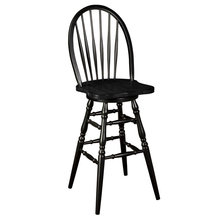 Swivel Counter Stool Bar Stool High Chair Black Kitchen: Sturbridge Yankee Workshop