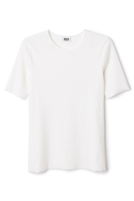 Weekday Rigby Tee in White