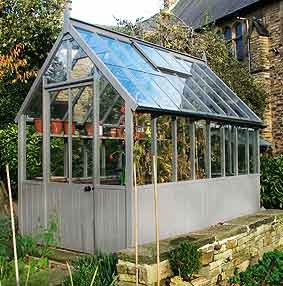 Edwardian Greenhouses Chesterfield All Wood In A Church Garden