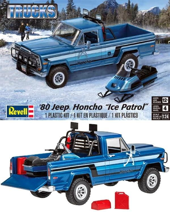 Revell Jeep Honcho Ice Patrol Model Truck Kits Model Cars Kits