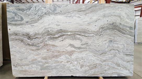 Ocean Beige (or Fantasy Brown Light) marble countertops. #fantasybrown…