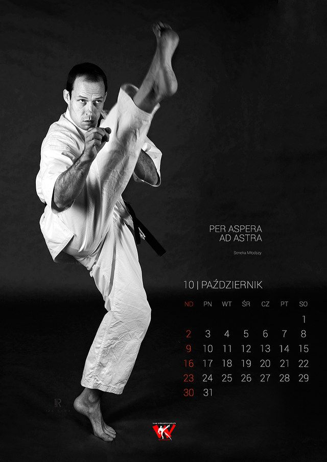 Iza Rams photography - Karate Club Calendar 2016
