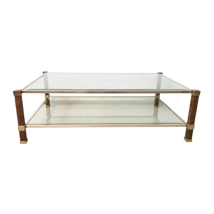 rare pierre vandel rectangle coffee table 1970s sale 50