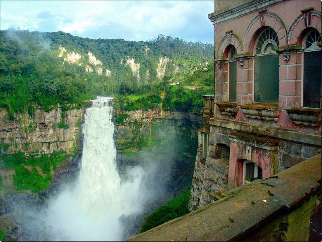 Hoje vi uma foto que a CI Intercâmbio postou em sua página no facebook de um hotel na Colômbia, chamado Hotel del Salto, e achei tão intrigante que fui pesquisar sobre esse lugar. Mas antes veja a …
