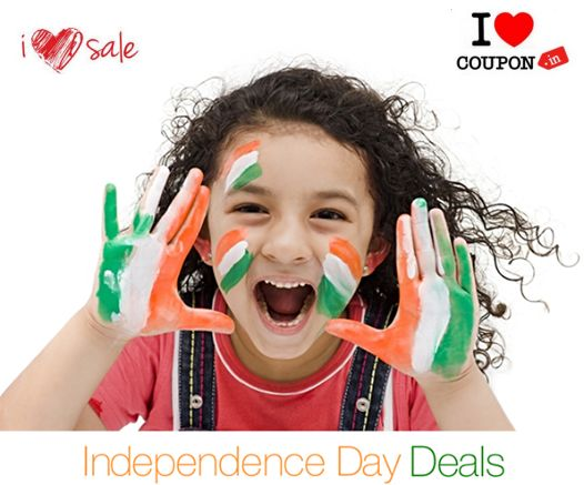 www.iLoveSale.IN & www.iLoveCoupon.IN wishing you all a Happy Independence Day !!!