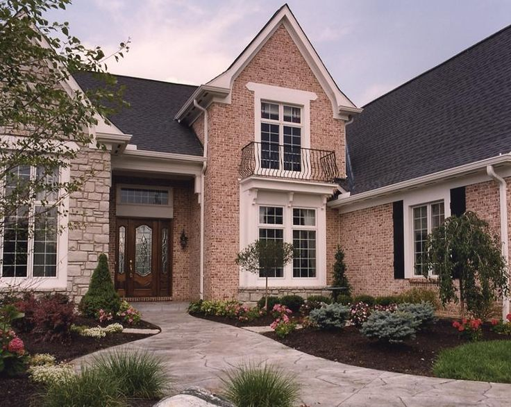 25 best ideas about brick and stone on pinterest stone for Brick stone combinations