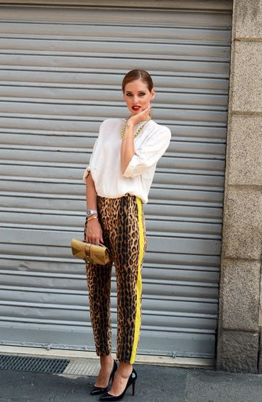 The blonde salad. Gorgeous leopard print trousers. Streetstyle animalprint shirt fashion style