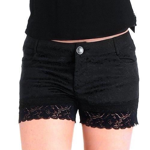 Pantalones Góticos Cortos Brocados | Crazyinlove España