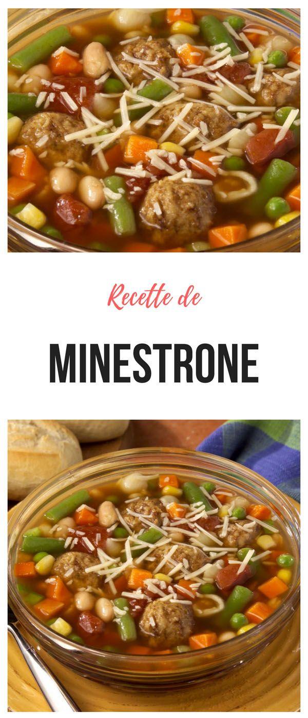 #soupe #minestrone
