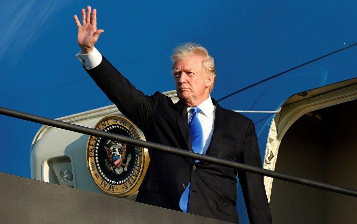 Sputnik Türkiye ///  Trump: Amerika'yı yeniden harika yap gündemi, 'cadı avı'na rağmen güzel gidiyor