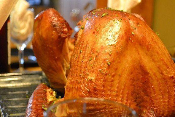 Foto de la receta de pavo ahumado al horno