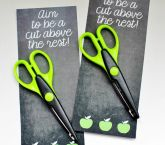 Back to School Printable... A Cut Above the Rest - Uncommon Designs...