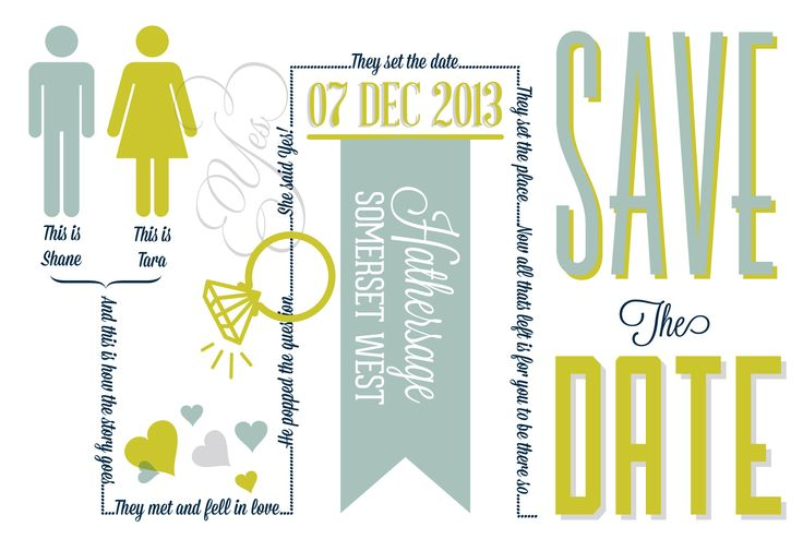 Save the date by Secret Diary.