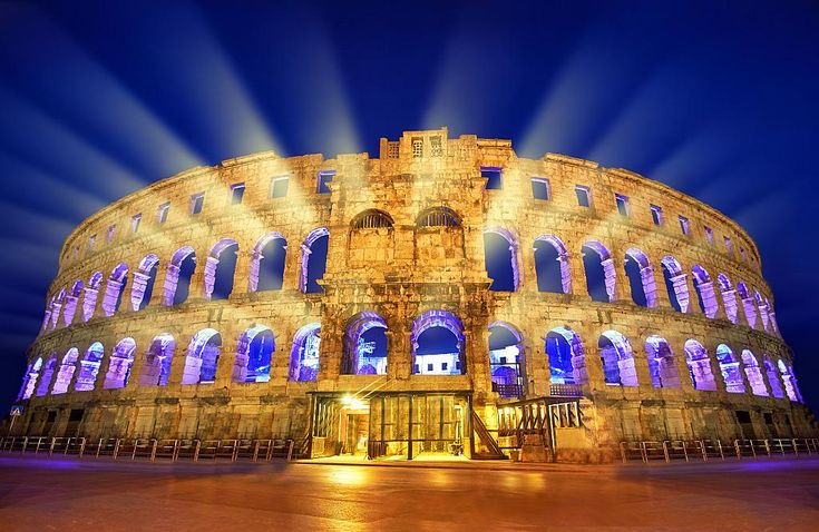 Each summer, the Arena in Pula hosts some of the best international music artists. It is absolutely a unique experience, as you can enjoy the music of your favorite artist inside a 2000 years old amphitheater, where the ancient Romans enjoyed their games and watched gladiator fights.The Arena...