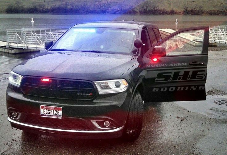 """Gooding County (ID) Sheriff Hagerman Division """"Ghost"""