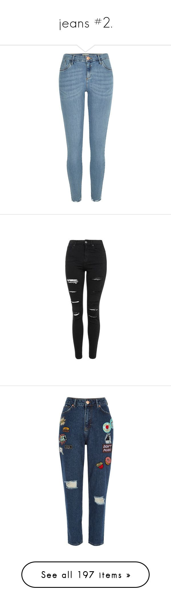 """""""jeans #2."""" by takenforfashion ❤ liked on Polyvore featuring jeans, pants, bottoms, blue, sale, zipper skinny jeans, super skinny jeans, tall jeans, zipper pocket jeans and blue skinny jeans"""