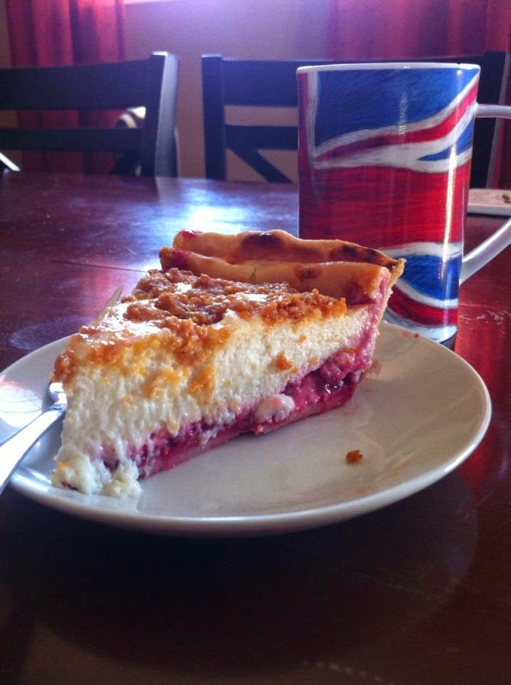 Very Terry: Raspberry Sour Cream Pie | Tried and True | Pinterest