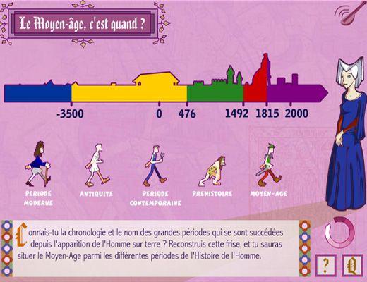 Pour découvrir le Moyen-âge et la constitution du royaume de France. http://education.francetv.fr/activite-interactive/a-votre-service-monseigneur-o13340