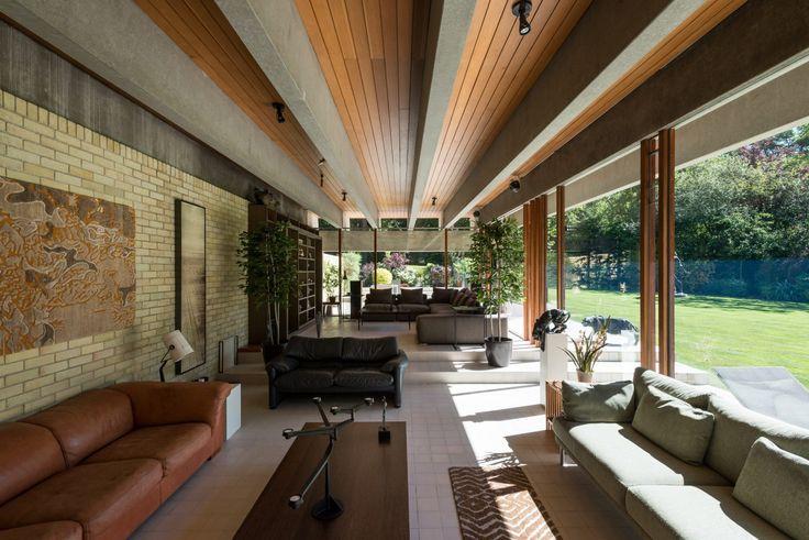 """Modernist """"Ahm House"""" by Jorn Utzon"""