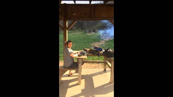 2 lb tannerite explosion