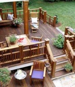 patio decking ideas03 260x300 garden decking ideas