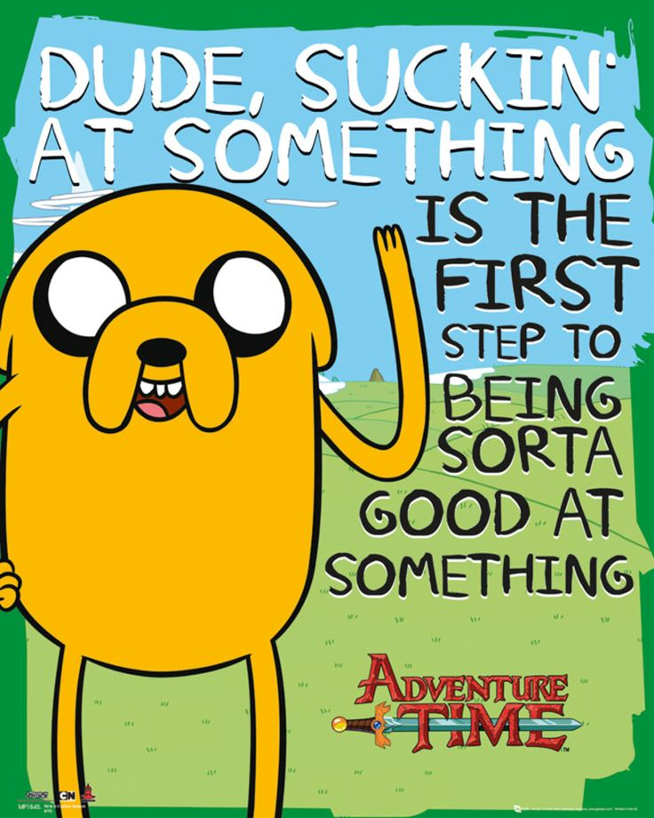 Adventure Time - Suckin - Official Mini Poster. Official Merchandise. FREE SHIPPING