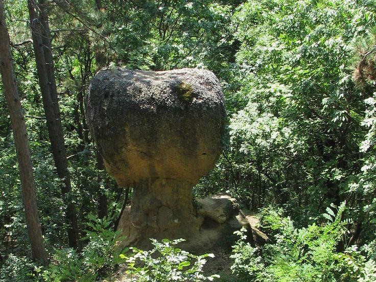 Gomba szikla, kilátóterasz (Piliscsaba közelében 0.4 km) http://www.turabazis.hu/latnivalok_ismerteto_5085 #latnivalo #piliscsaba #turabazis #hungary #magyarorszag #travel #tura #turista #kirandulas
