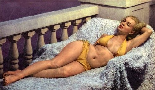 Marilyn. I love this picture of her. Look closely. Her tummy is not taut, her thighs touch, her breasts are not perky. Yet even more than 50 years after her death she is still considered a sex symbol. Beauty has not changed how we view women has changed.