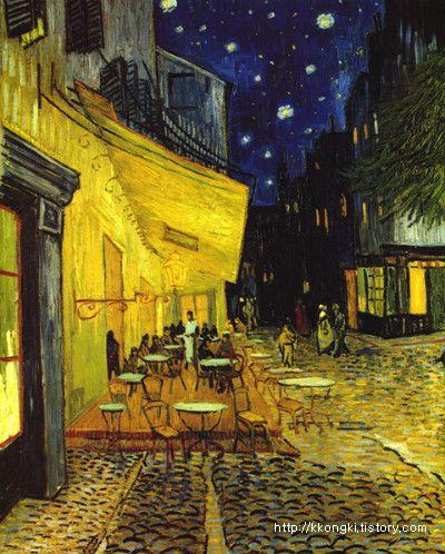빈센트 반 고흐 [Vincent van Gogh] - 밤의 카페테라스