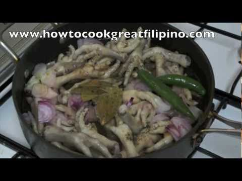 94 best filipino pinoy food recipe video images on pinterest adobong paa ng manok recipe philippines how to cook great filipino chicken feet forumfinder Gallery