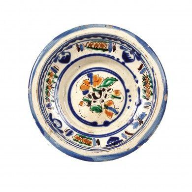 Farfurie decorativa, marfă tip Făgăraş, sfârşitul sec. XIX