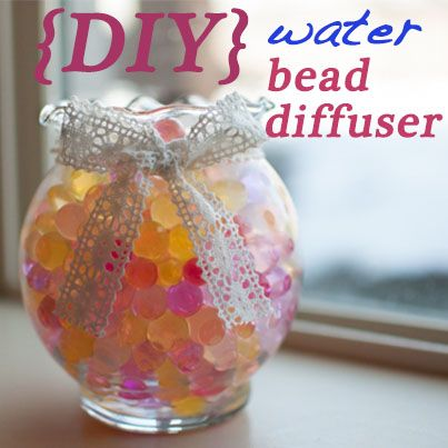 A water bead diffuser is a great way to spread the aroma of essential oils in a way that reflects your unique style. Learn how to make your own here: http://doterrablog.com/diy-water-bead-diffuser