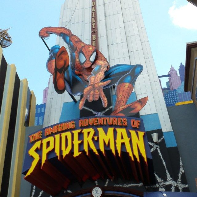 Adventures of Spider-Man at Universal's Islands of Adventure in Orlando, Florida
